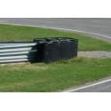 Slot Track Scenics TC-PBL Couvre Pneus noir uni 1,4m