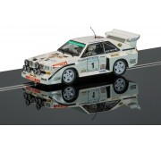 Scalextric C3487 Audi Sport Quattro S1, Ulster Rally 1985