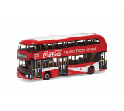 Corgi OM46623 New Routemaster - London United - LTZ 1148 - Route 10 - Kings Cross - Coca Cola