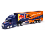 New Ray 14393 Truck Red Bull KTM Factory Team Truck 2017 (Peterbilt 387)