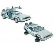 Welly 22441 Back to the Futur II, Delorean Time Machine 1:24