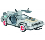 Welly 22444 Back to the Futur III, Delorean Time Machine 1:24