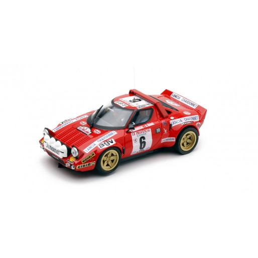 """TEAMSLOT PDV01011516 Lancia Stratos """"Tour de Corse 1975"""""""