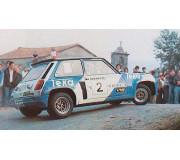 "TEAMSLOT PDV01011809 Renault 5 Turbo ""Rally Torrelavega 1983"""