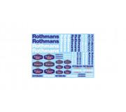 "TEAMSLOT PDVP00P00017 Sponsors ""Rothmans"""