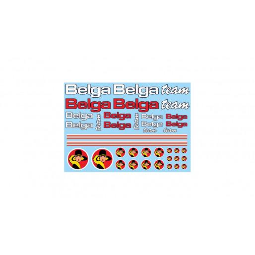 """TEAMSLOT PDVP00P00019 Sponsors """"Belga Team"""""""