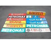"TEAMSLOT PDVC6363024 Wall Sponsor ""Asia 1"""