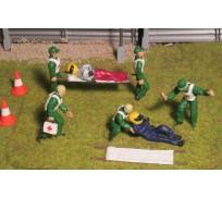 Slot Track Scenics SRAF 10 Scène d'Accident