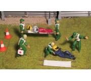 Slot Track Scenics SRA 10 Crash Scene