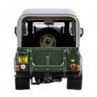 Britains 42732 Land Rover Defender 90 + Canopy - Green