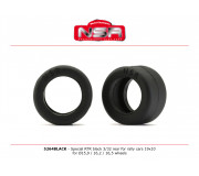 NSR 5264BLACK Special RTR Slick Rear for Rally Cars - 19x10 - Racing tyres (4 pcs)