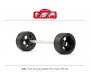 NSR 9152 3/32 Front kit racing ultralight RTR - Ø 15,8mm wheels
