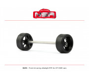 NSR 9153 3/32 Front kit racing ultralight RTR - Ø 17,3mm wheels