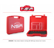 NSR 1991EVO Nouveau Medium Bag vide avec éponge interne & boite lexan 5 places