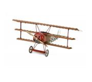 Artesanía Latina 20350 Maquette en Bois et Métal: Avion Fokker Dr.I, Triplan du Baron Rouge 1/16