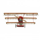 Artesanía Latina 20350 Wooden and Metal Model: Fokker Dr.I Red Baron's Fighter 1/16