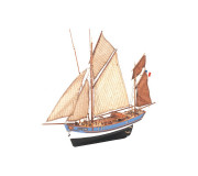 Artesanía Latina 22170 Wooden Model Ship Kit: Marie Jeanne 1/50