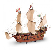 Artesanía Latina 22452-N Wooden Model Ship Kit: New Galleon San Francisco II 1/90