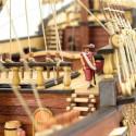 Artesanía Latina 22452-N Wooden Model Ship Kit: New Galleon San Francisco II 1/90