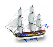Artesanía Latina 22517-N Wooden Model Ship Kit: New Hermione La Fayette 1/89