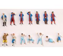 Artesanía Latina 22517-F L'Hermione La Fayette's 14 figurines set