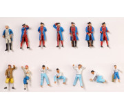 Artesanía Latina 22517-F Coffret de 14 figurines pour l'Hermione La Fayette