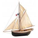 Artesanía Latina 22180 Wooden Model Ship Kit: Jolie Brise Cutter 1/50