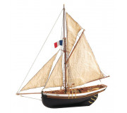 Artesanía Latina 22180 Wooden Model Ship Kit: Jolie Brise Cutter 1/50