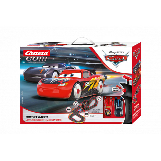 Carrera Go 62518 Disney Pixar Cars Rocket Racer Set Slot Car Union