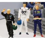 Slot Track Scenics Dec. 8 F1 Driver Decals 2020