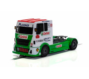 Scalextric C4156 Racing Truck Green - White - Red