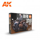 AK Interactive AK11613 Skin and Leather Colors Set 6x17ml