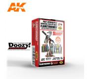 Doozy DZ030 Lance-Flammes Universel Post-Apocalyptique de Camionnette avec Bouclier Protecteur d'Aile de voiture