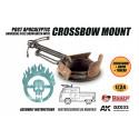 Doozy DZ033 Post Apocalyptic Universal Steel Drum Hatch with Crossbow Mount