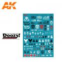 Doozy DZ034 Assorted Post Apocalyptic Decals
