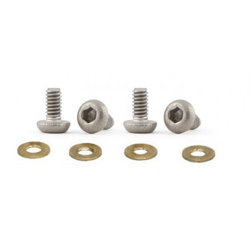 Slot.it CH90 Motor Fixing Screws Titanium M2 4mm x4
