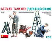MiniArt 35327 German Tankmen Camo Painting