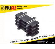 Policar P024-4 Short Straight 61.4mm x4