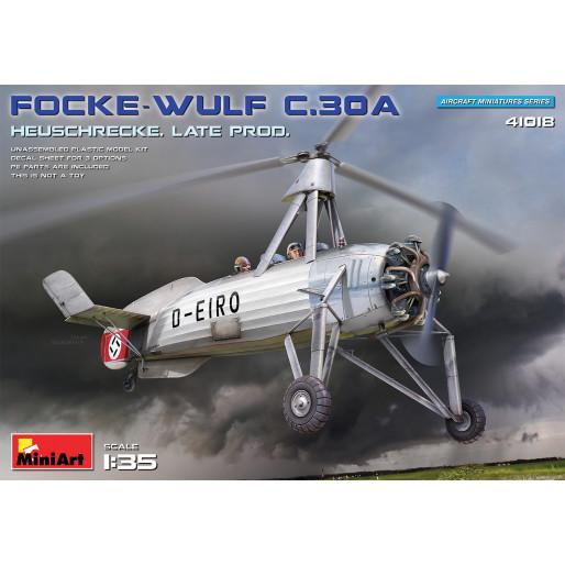 MiniArt 41018 Focke-Wulf FW C.30A Heuschrecke. Late Prod