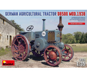 MiniArt 38024 German Agricultural Tractor D8500 Mod. 1938