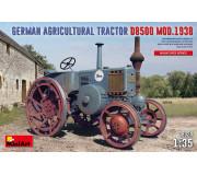 MiniArt 38024 Tracteur Agricole Allemand D8500 Mod. 1938