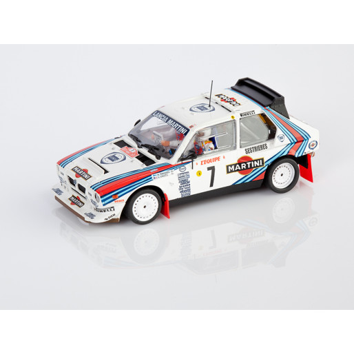 SRC 04001 Lancia Delta S4 Martini - Rally Montecarlo 1986 n.7 WINNER