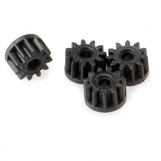 Scalextric W8200 Pinion 11 dents L8160 (Noir) x4