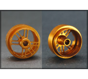 Black Arrow BARI02B Rear Aluminum Rim Gold Anodized 16,5 X 10 (2 pcs)
