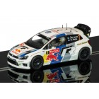 Scalextric C3524 Volkswagen Polo WRC, Monte Carlo Rally 2013