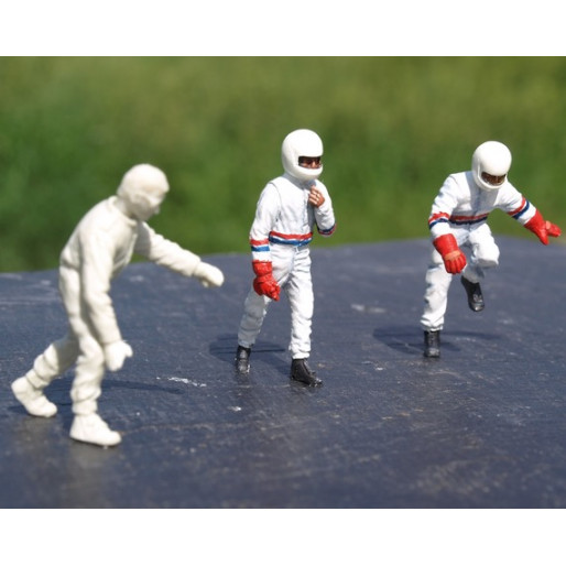 LE MANS miniatures Figure Team Joest Porsche : Drivers
