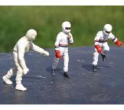 LE MANS miniatures Figurine Team Joest Porsche : pilotes