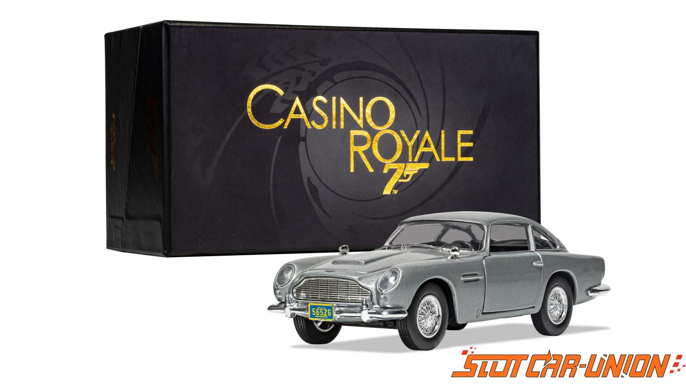 Corgi Cc04313 James Bond Aston Martin Db5 Casino Royale Slot Car Union