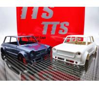 TTS A112 Abarth Full white body kit