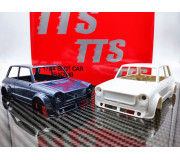 TTS A112 Abarth  Kit carrosserie blanche complète